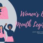 Women's History Month: Celebrating Through Legislation